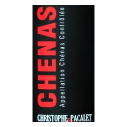 Christophe Pacalet Chenas 2016 image