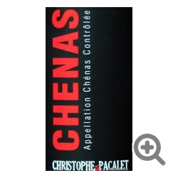 Christophe Pacalet Chenas 2016