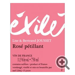 Domaine Jousset Exile Rose Pet-Nat 2016