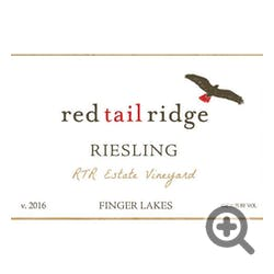 Red Tail Ridge 'RTR Vineyard' 'Estate' Riesling 2016