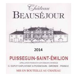 Chateau Beausejour Cuvee Speciale Puisseguin 2014 image