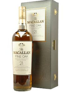 Macallan 21yr 750ml 'Fine Oak'