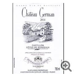Chateau German Bordeaux Rouge 2014