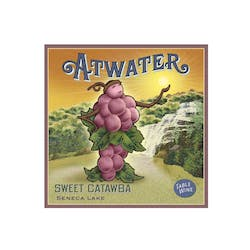 Atwater Estate Sweet  Catawba 2016 image