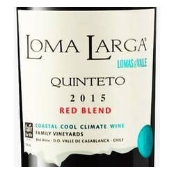 Loma Larga del Valle 'Quinteto' Red Blend 2015 image