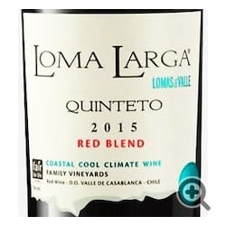Loma Larga del Valle 'Quinteto' Red Blend 2015