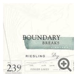 Boundary Breaks 'No. 239' Dry Riesling 2017