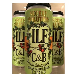 ILF C&B 'Seckel Solution' Pear Cider 4-16oz Cans image
