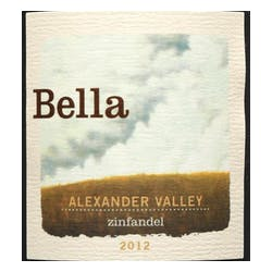 Bella Winery Alexander Valley Zinfandel 2012 image