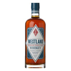 Westland 'American' Single Malt 92prf Whiskey image