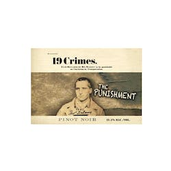 19 Crimes 'The Punishment' Pinot Noir 2018 image