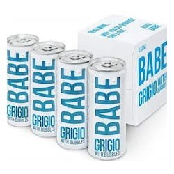 Babe 'Sparkling' Pinot Grigio 4-187ml Cans image