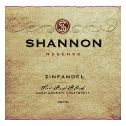 Shannon Ridge 'Two Bud Block' Single Vineyard Zinfandel 2012 image