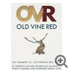 Marietta Cellars 'Old Vine Red' lot 67 OVR