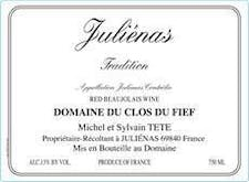 Michel Tete 'Cuvee Tradition' Julienas 2016