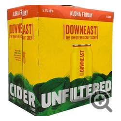 Downeast Cider 'Aloha Friday' 4-12oz Cans