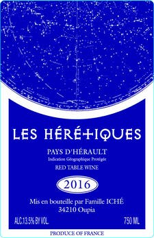 Chateau d'Oupia Les Heretique Red Blend 2017
