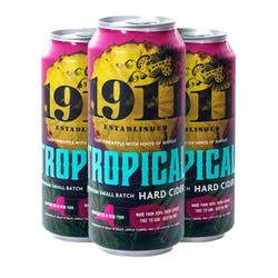 1911 Cidery 'Tropical' Cider 4-16oz Cans image
