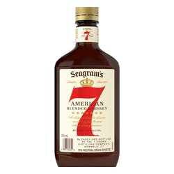 Seagrams 7 Crown Canadian Blended Whisky 375ml image