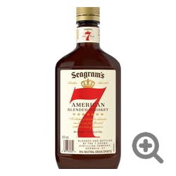 Seagrams 7 Crown Canadian Blended Whisky 375ml