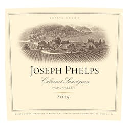 Joseph Phelps Vineyards Cabernet Sauvignon 2015 image