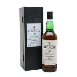 Laphroaig 30yr 107prf Single Malt Scotch 750ml image