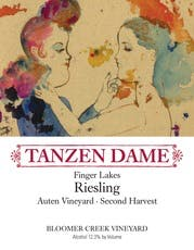 Bloomer Creek Riesling 'Tanzen Dame' 2nd Harvest 2014