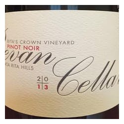 Bevan Cellars Pinot Noir 'Rita's Crown' 2016 image