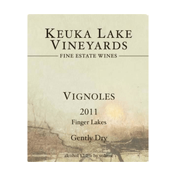 Keuka Lake Vineyards Vignoles 2015