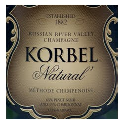 Korbel 'Natural' Methode Champenoise 2014 image