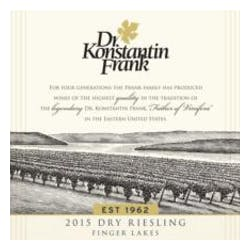Dr. Frank 'Dry' Riesling 2017 image