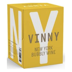 VINNY Bubbly White Wine 4-250ml Cans image