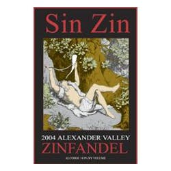 Alexander Valley Vineyards Sin Zin Zinfandel 2009 image