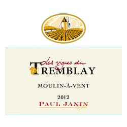 Paul Janin et Fils 'Tremblay' Moulin a Vent 2014 image
