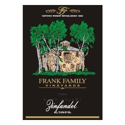 Frank Family Vineyards Zinfandel 2015 image