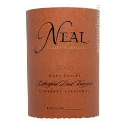 Neal Family 'Rutherford Dust' Cabernet Sauvignon 2004 image