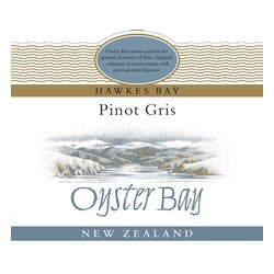 Oyster Bay Pinot Gris 2018 image
