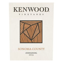 Kenwood Vineyards 'Sonoma' Zinfandel 2015 image
