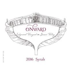 Onward Wines 'Ledgewood Vyd' Syrah 2016 image