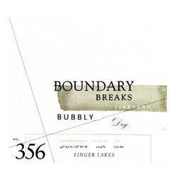 Boundary Breaks 'Bubbly' Dry Riesling 2017 image