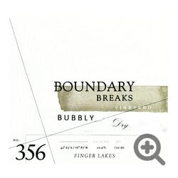 Boundary Breaks 'Bubbly' Dry Riesling 2017