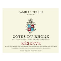 Perrin Famille Reserve Rouge 2016 image