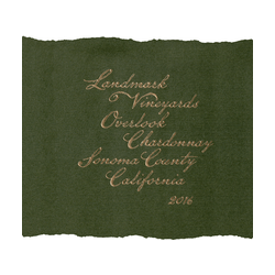 Landmark Vineyards 'Overlook' Chardonnay 2016
