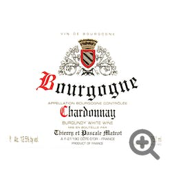 Thierry et Pascale Matrot Chardonnay 2016
