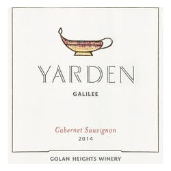 Golan Heights Winery 'Yarden' Cabernet Sauv 2015 image