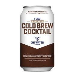 Cutwater Spirits 'Cold Brew' Cans 355ml image