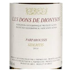 Parparoussis Gift of Dionysos Sideritis 2017 image