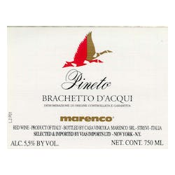 Marenco 'Pineto' Brachetto d'Acqui 2017 image