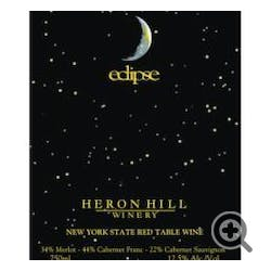 Heron Hill Winery 'eclipse' Red 2016