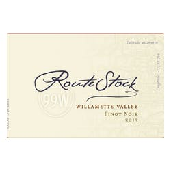 RouteStock Cellars 'Route 99W' Pinot Noir 2016 image